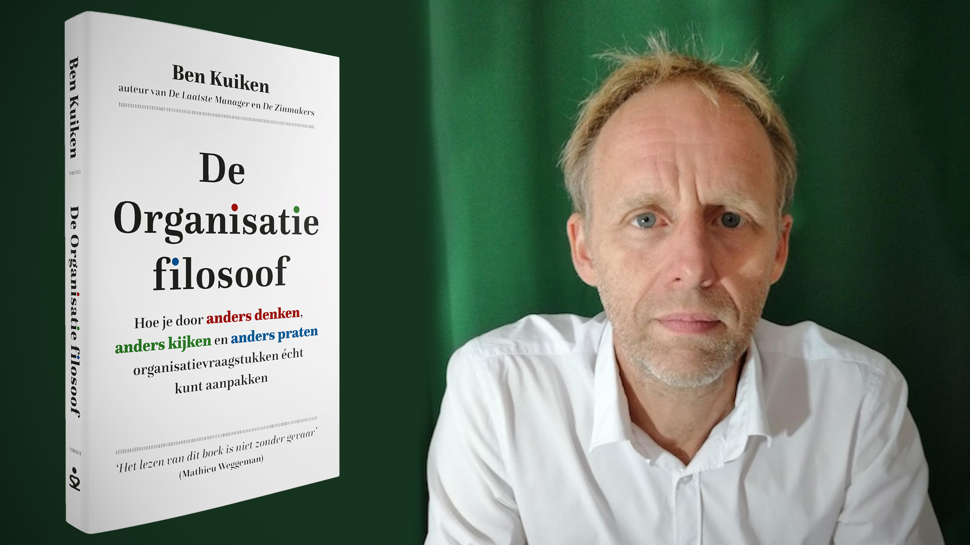 """Ben Kuiken: """"Nederland gaat aan continu verbeteren ten onder"""""""
